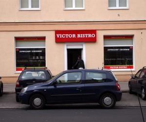 Victor Bistro widok z ulicy