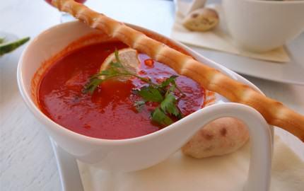 Genialna zupa z owocami morza